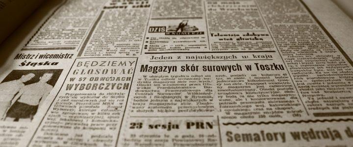 Tidningsannonsering – bara på landsbygden?